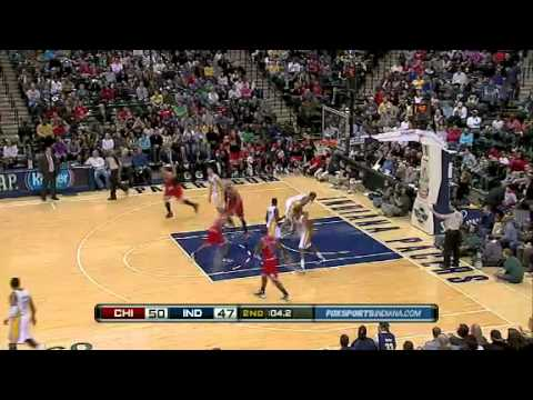 Chicago Bulls Vs Indiana Pacers - NBA Preseason - Highlights   2011- 2012