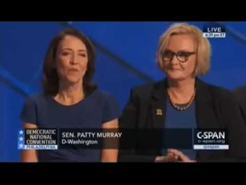 Sen. Patty Murray at the DNC