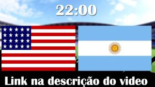 ESTADOS UNIDOS X ARGENTINA -COPA AMÉRICA 2016- 21/06/16 (22:00)