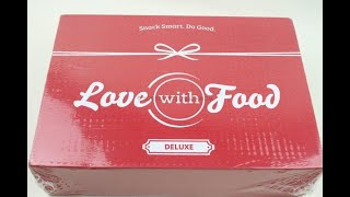 "Love with Food Box April 2019 ""Deluxe"" Unboxing + Coupons #lovewithfood"
