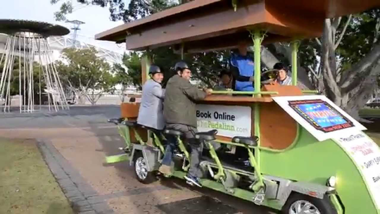 Fun Group Beer Bike Ride Activity In Sydney On The Biggest