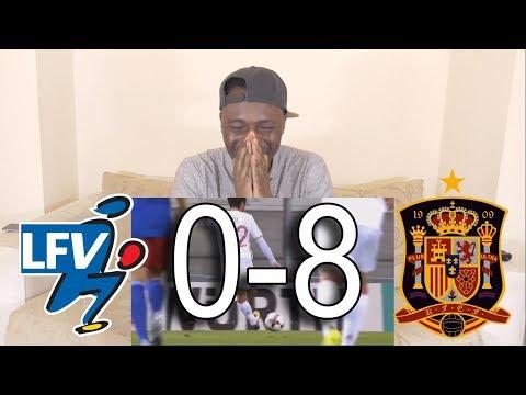 Liechtenstein vs Spain 0-8 All Goals & Highlights - World Cup Qualifiers: Reaction