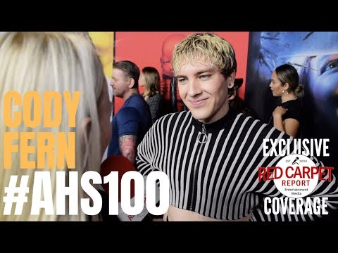 Cody Fern interviewed at FX Network's American Horror Story 100 Episodes Red Carpet #AHSFX