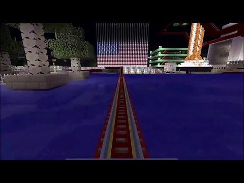 Rabbit Railways ~ A Super Long Minecraft Roller Coaster