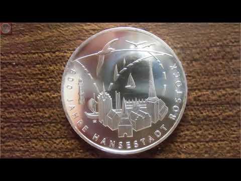 20 Euro Münze 2018 - 800 Jahre Hansestadt Rostock