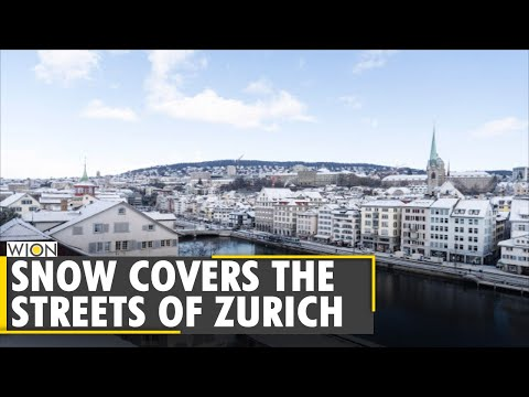 Zurich has turned into a winter postcard come to life | World News | WION