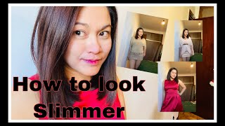 How To Look Slimmer Wearing Dress|Pbisdak