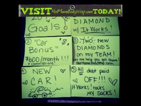 Hot Mama Body Wraps 2013 Goals It Works Independent Distributor