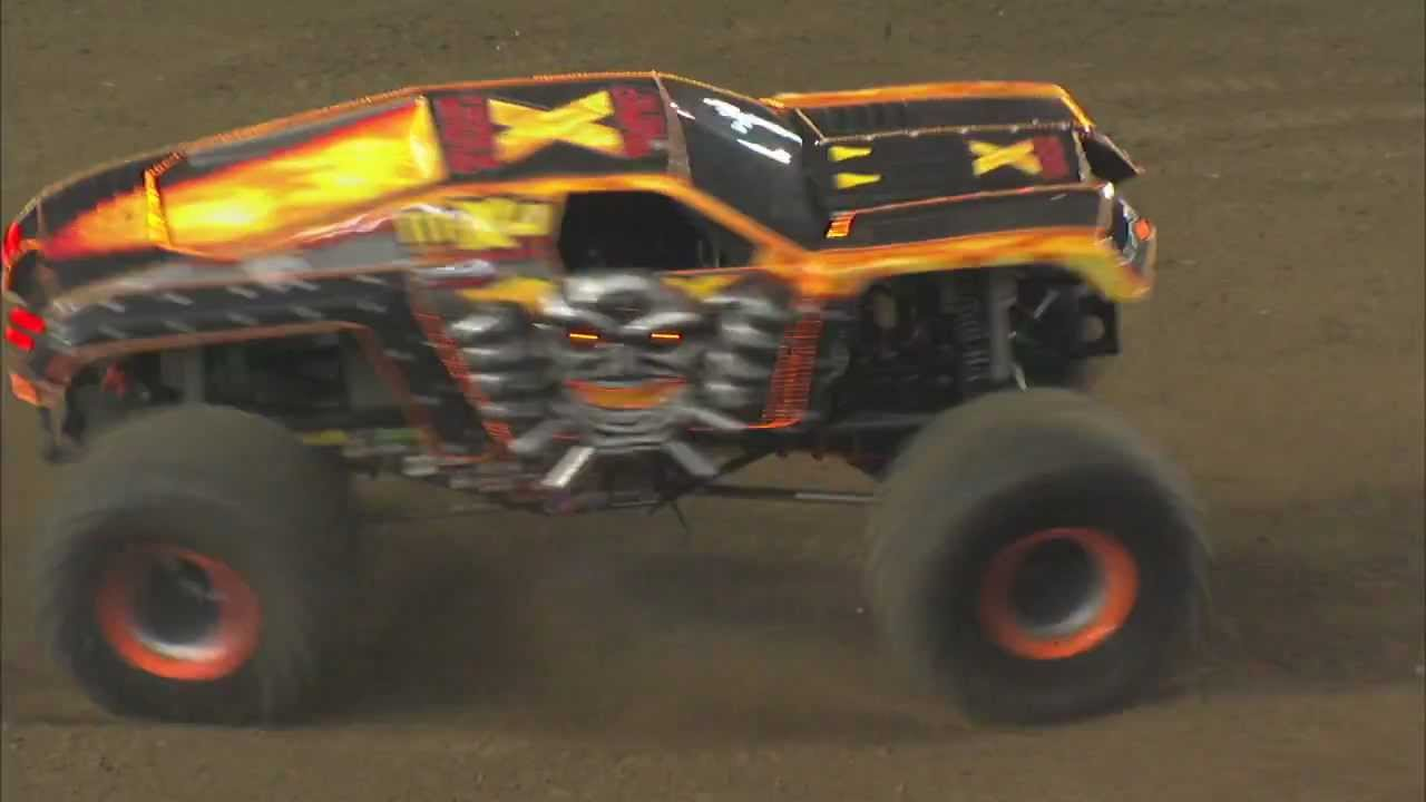 Monster Jam - Max-D Monster Truck Freestyle from Tacoma ...
