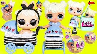 LOL Surprise Dolls Lil Curious QT rides School Bus
