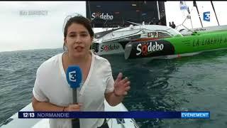 En direct de Salvador de Bahia : arrivée du bateau Sodébo