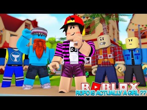 ROPO IS ACTUALLY A GIRL ??!!! SUPERHERO BATTLE THOR VS DEADPOOL !!! Sharky Gaming | Roblox