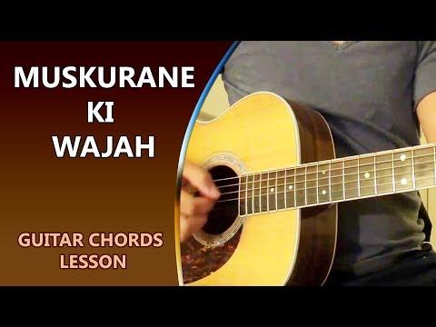 MUSKURANE KI WAJAH - Guitar Chord Lesson || Musical Guruji
