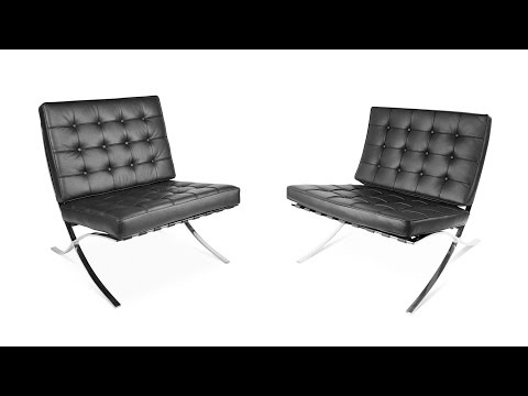 Barcelona Chair   Difference between the Premium and Bestbuy Barcelona Chair