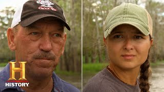 Swamp People: BOATLOAD of Gators in Deadman's Slough (Season 12) | History