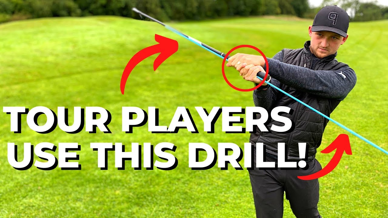 HOW TO DRAW AND FADE YOUR GOLF SHOTS REALLY EASILY!!
