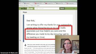 Letter of Gratitude- How to write a thank you letter