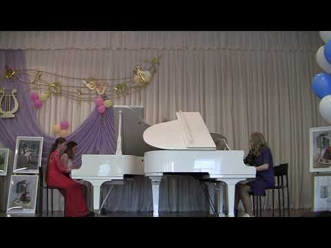 Фортепианный квартет: Екатерина Капустина, Алина Леонович, Ольга Разина и Арина Халилова