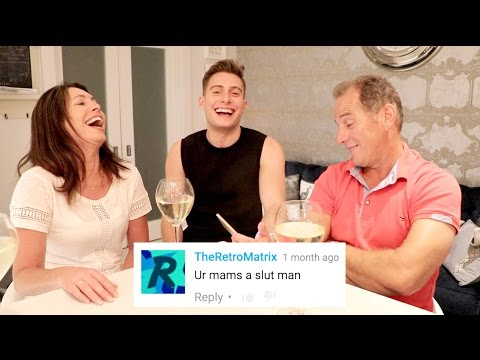 READING MEAN COMMENTS WITH MY PARENTS!