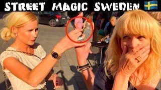 Street Magic in SWEDEN 🇸🇪 !! -Julien Magic