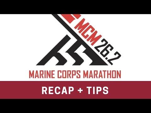 Marine Corps Marathon Race Recap + Tips