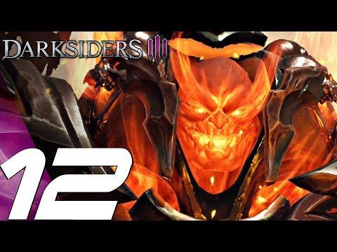 DARKSIDERS 3 - Gameplay Walkthrough Part 12 - Grock & Wrath Boss Fight #2 (PS4 PRO)
