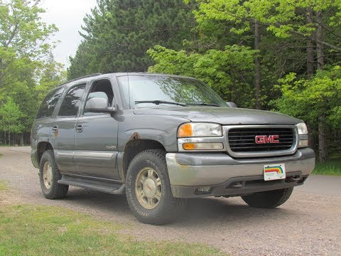 Reveal, Review and Test of my new ride 2000 GMC Yukon