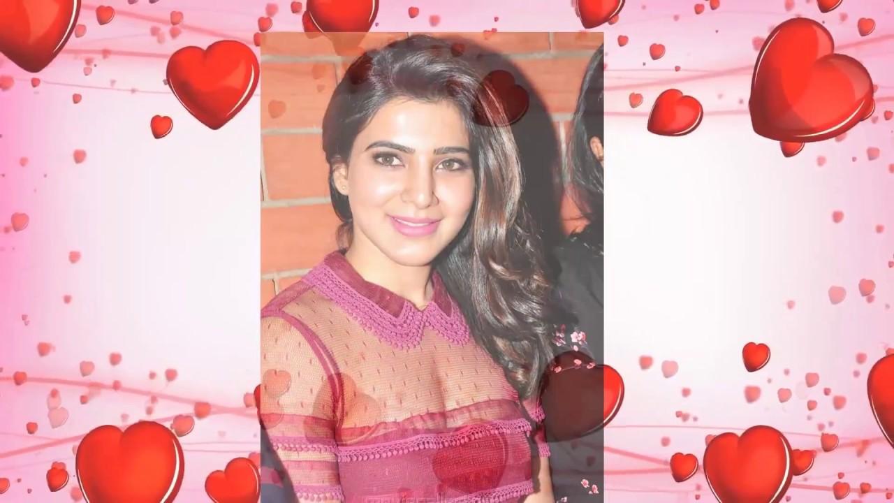 Tamil Actress Samantha cute photos - YouTube