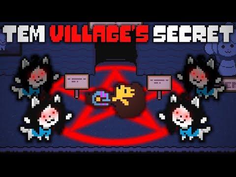 The Insane Truth Behind Tem Village In UNDERTALE! Undertale Theory | UNDERLAB