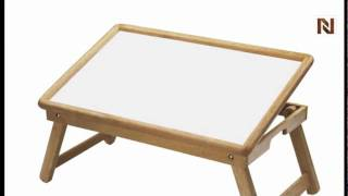 Winsome Breakfast Bed Tray, Flip Top, Foldable Legs 98721