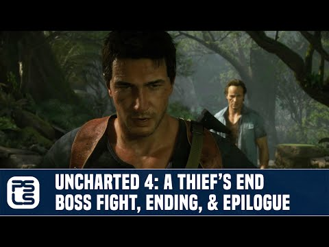 Uncharted 4: A Thief's End - Final Boss Fight, Ending, & Epilogue