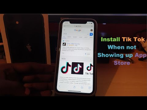 Cant Download Tik Tok from App Store iPhone or iPad do this