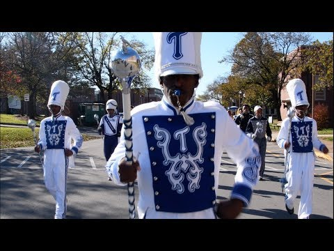 Tennessee State University Marching Band - Marching In - 2018 #PreviewDay