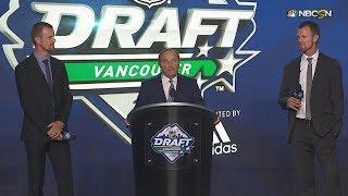Daniel and Henrik Sedin kick off 2019 NHL Draft with jersey retirement announcement