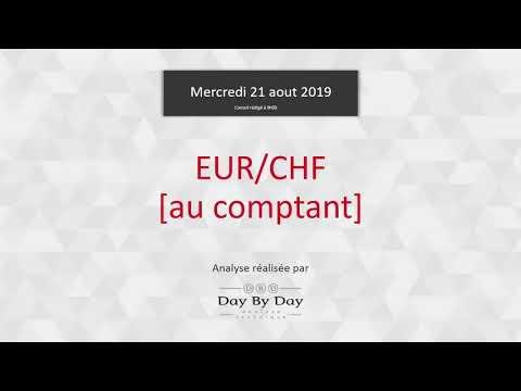 Vente De L'euro Contre Le Franc Suisse (comptant) - Idée De Trading 21.08.2019