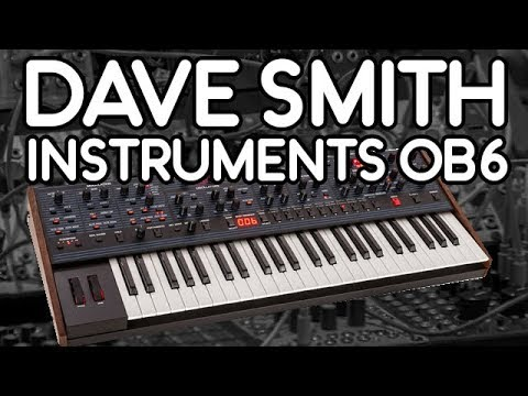Dave Smith Instruments OB6 - Demo Performance and Sounds - Milk Audio Store
