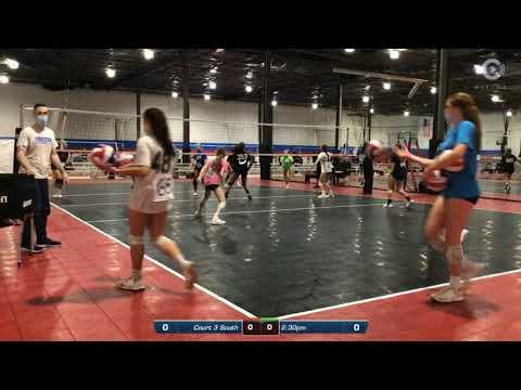 Ashlyn Hickey College Exposure Highlights - 2023 Outside Hitter - Club 1 VBC