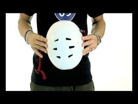 TSG Evolution helmet product training video with Jürgen Horrwarth