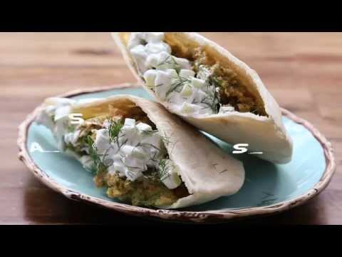 Vegetarian Recipes - How to Make Falafel and Cucumber Sauce