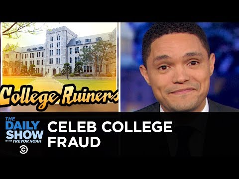 Hollywood Stars Caught Bribing College Admissions for Their Kids | The Daily Show