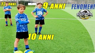 BAMBINI FENOMENI !! Future STELLE del CALCIO ! Fcamp.it