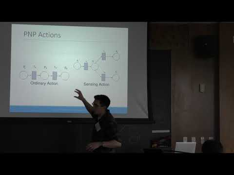 ICAPS 2017: Short-Term Human Robot Interaction through Conditional Planning and Execution