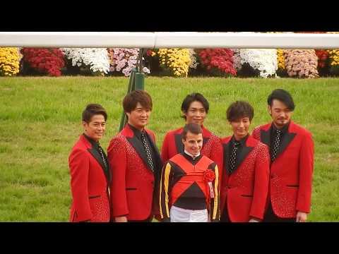 マイルチャンピオンシップ2018/スーパー銭湯アイドルの純烈が表彰式に登場(2018.11.18)