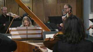 (2/3) Els Biesemans plays CPE Bach Keyboard Concerto E Minor Wq. 15 - 2. Adagio