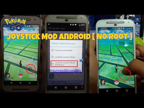 Pokemon GO Android MOD | NO Root | Joystick & Location Spoofing