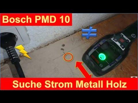 Praxis Test Bosch Pmd 10 Strom Metall Und Balken Finden Wie Genau
