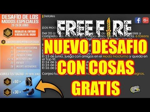 🔴 Nuevo Desafió con cosas Gratis!!! - FREE FIRE - Ya Hay Fecha de la Actualización!!