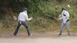 Idiot Fencing: Matt Ingebretson vs. Dave Ross