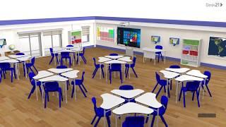 Gambar cover DESK21 - Modern classroom