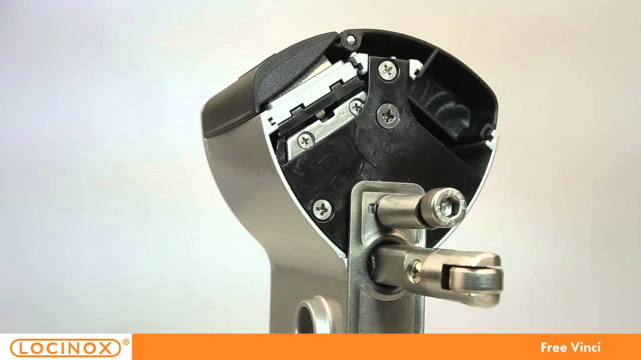 locinox free vinci - mechanisches codeschloss - youtube